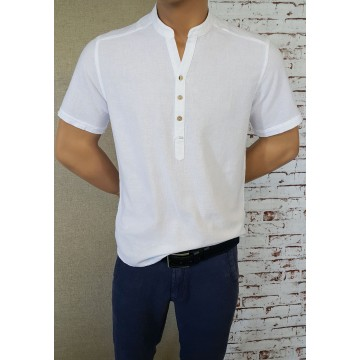 Men's Robe 50% Len 50% Cotton - 1913